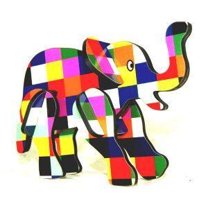 puzzle 3d éléphant