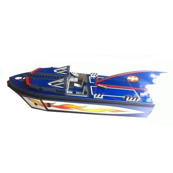 puzzle 3d bateau batman