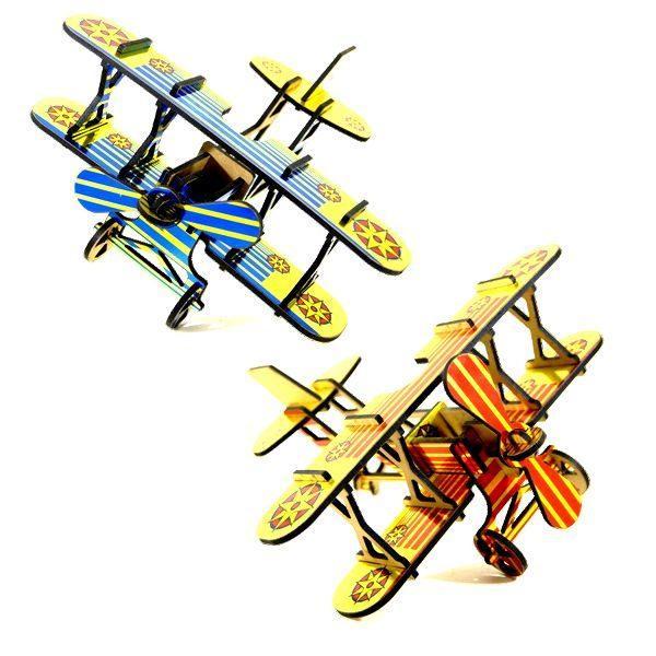 puzzle 3d biplan