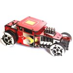 puzzle 3d hot rod rouge