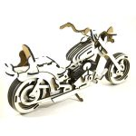 puzzle 3d moto harley