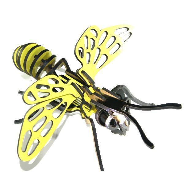 puzzle 3d abeille